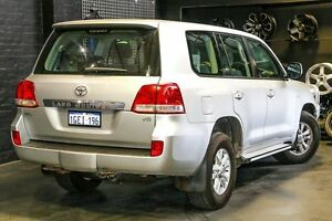 2011 Toyota Landcruiser VDJ200R MY10 GXL Silver 6 Speed Sports Automatic Wagon Northbridge Perth City Area Preview