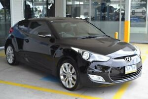 2011 Hyundai Veloster FS Black Sports Automatic Dual Clutch Mill Park Whittlesea Area Preview