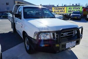 2004 Ford Courier PG GL White 5 Speed Manual Cab Chassis Pearce Woden Valley Preview
