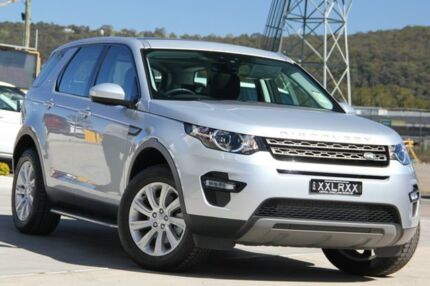 2016 Land Rover Discovery Sport L550 16.5MY Si4 SE Indus Silver 9 Speed Sports Automatic Wagon