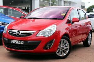 2012 Opel Corsa SL Enjoy Red 5 Speed Manual Hatchback Brookvale Manly Area Preview