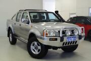 2005 Nissan Navara D22 S2 ST-R Silver 5 Speed Manual Utility Myaree Melville Area Preview