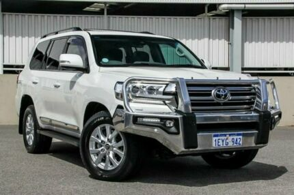 2016 Toyota Landcruiser VDJ200R MY16 Sahara (4x4) White 6 Speed Automatic Wagon Cannington Canning Area Preview