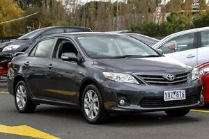 2011 Toyota Corolla ZRE152R MY11 Ascent Sport Grey 4 Speed Automatic Sedan Ringwood East Maroondah Area Preview