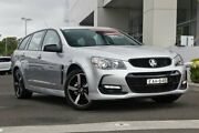 2016 Holden Commodore VF II MY16 SV6 Sportwagon Black Silver 6 Speed Sports Automatic Wagon Kirrawee Sutherland Area Preview