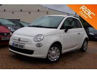 2015 15 FIAT 500 1.2 POP 3D 69 BHP - USED CAR DEALER OF THE YEAR