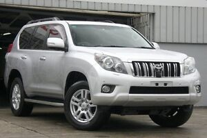 2012 Toyota Landcruiser Prado KDJ150R 11 Upgrade Kakadu (4x4) Silver 5 Speed Sequential Auto Wagon Mosman Mosman Area Preview