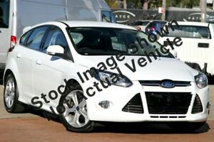 2013 Ford Focus LW MkII Sport PwrShift White 6 Speed Sports Automatic Dual Clutch Hatchback West Hindmarsh Charles Sturt Area Preview