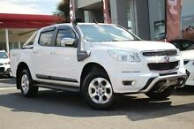 2012 Holden Colorado  White Manual Utility Watsonia North Banyule Area Preview