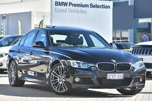 2015 BMW 318I F30 LCI M Sport Black 8 Speed Sports Automatic Sedan Victoria Park Victoria Park Area Preview