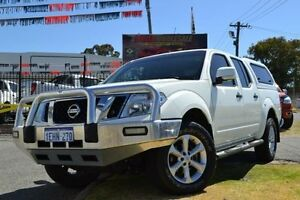 2013 Nissan Navara D40 MY12 ST (4x4) White 5 Speed Automatic Dual Cab Pick-up Maddington Gosnells Area Preview