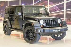 2013 Jeep Wrangler JK MY2014 Unlimited Sport Black 6 Speed Manual Softtop Blacktown Blacktown Area Preview