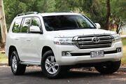 2017 Toyota Landcruiser VDJ200R Altitude White 6 Speed Sports Automatic Wagon Hawthorn Mitcham Area Preview