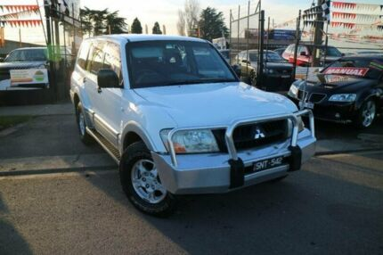 2003 Mitsubishi Pajero NP GLS LWB (4x4) Silver 5 Speed Auto Sports Mode Wagon Brooklyn Brimbank Area Preview