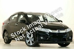 2014 Honda City GM MY14 VTi-L Crystal Black 7 Speed Constant Variable Sedan Rocklea Brisbane South West Preview