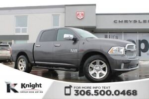 2014 Ram 1500 Longhorn Limited - Heated/Cooled Leather Seats - P