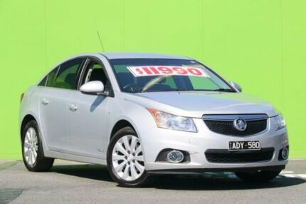 2011 Holden Cruze JG CDX Silver Sky 6 Speed Sports Automatic Sedan Ringwood East Maroondah Area Preview