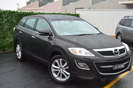 2012 Mazda CX-9 TB10A5 Grand Touring Activematic AWD Black 6 Speed Sports Automatic Wagon
