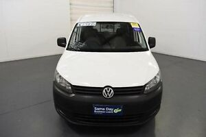 2012 Volkswagen Caddy 2K MY12 Maxi TDI320 White 6 Speed Direct Shift Van Moorabbin Kingston Area Preview