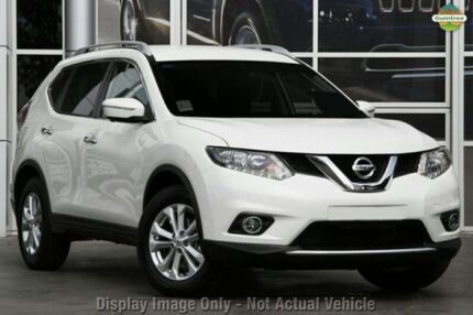 2015 Nissan X-Trail T32 ST-L (4x4) Ivory Pearl Continuous Variable Wagon Beaudesert Ipswich South Preview