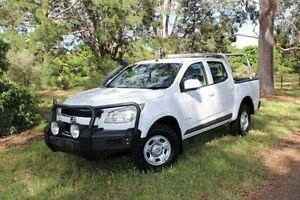 2012 Holden Colorado RG MY13 LX Crew Cab White 6 Speed Sports Automatic Utility Hawthorn Mitcham Area Preview