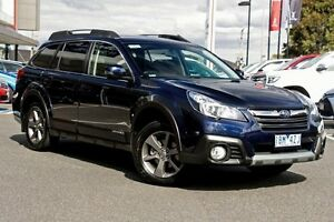 2014 Subaru Outback B5A MY14 2.5i Lineartronic AWD Blue 6 Speed Constant Variable Wagon Mill Park Whittlesea Area Preview