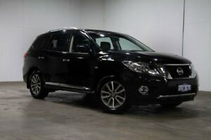 2015 Nissan Pathfinder R52 MY15 ST-L X-tronic 4WD Diamond Black 1 Speed Constant Variable Wagon Welshpool Canning Area Preview