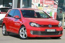 2012 Volkswagen Golf 1K MY13 GTi Red 6 Speed Direct Shift Hatchback Brookvale Manly Area Preview