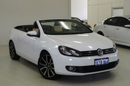 2015 Volkswagen Golf VI MY15 118TSI DSG Exclusive White 7 Speed Sports Automatic Dual Clutch Myaree Melville Area Preview