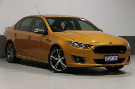 2015 Ford Falcon FG X XR8 Victory Gold 6 Speed Auto Seq Sportshift Sedan Bentley Canning Area Preview
