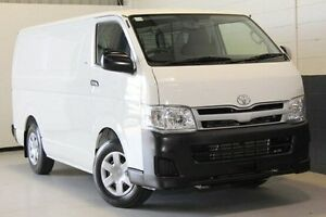 2012 Toyota Hiace  White Automatic Van Hillcrest Port Adelaide Area Preview