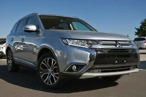 2015 Mitsubishi Outlander ZK MY16 LS 4WD Silver 6 Speed Constant Variable Wagon Nunawading Whitehorse Area Preview