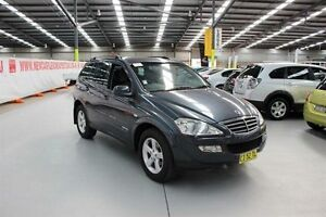 2010 Ssangyong Kyron D100 MY09 M200 XDi Grey 6 Speed Sports Automatic Wagon Maryville Newcastle Area Preview