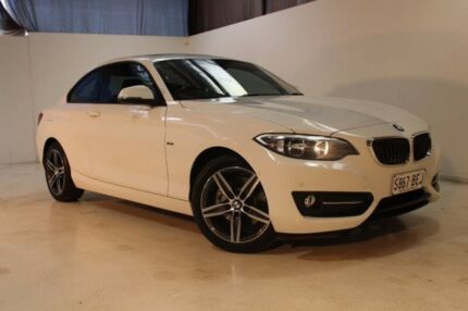 2014 BMW 220D F22 Sport Line White 8 Speed Sports Automatic Coupe