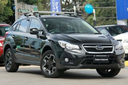 2014 Subaru XV MY14 2.0I-S Black Continuous Variable Wagon Rosebery Inner Sydney Preview