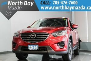 2016 Mazda CX-5 GT with AWD, Navigation System, Heated Seats, Ne