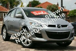 2010 Mazda CX-7 ER MY10 Luxury Sports (4x4) Silver 6 Speed Auto Activematic Wagon Tuggerah Wyong Area Preview