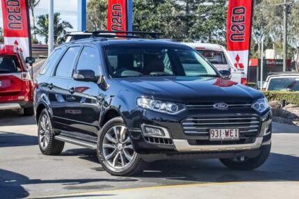 2016 Ford Territory SZ MkII Titanium Seq Sport Shift AWD Black 6 Speed Sports Automatic Wagon Aspley Brisbane North East Preview