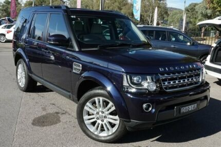 2014 Land Rover Discovery Series 4 L319 M SDV6 HSE Loire Blue 8 Speed Sports Automatic Wagon