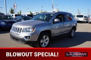 2016 Jeep Compass 4X4 HIGH ALTITUDE Accident Free,  Leather,  He
