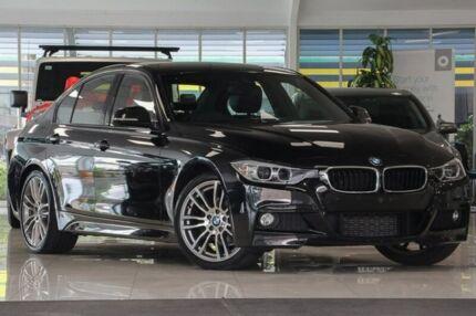 2015 BMW 316I F30 MY1114 M Sport Black 8 Speed Automatic Sedan