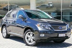 2011 Lexus RX450H GYL15R MY11 Sports Luxury Grey 1 Speed Constant Variable Wagon Hybrid St James Victoria Park Area Preview