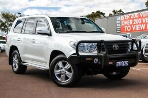 2013 Toyota Landcruiser VDJ200R MY13 Altitude White 6 Speed Sports Automatic Wagon Wilson Canning Area Preview