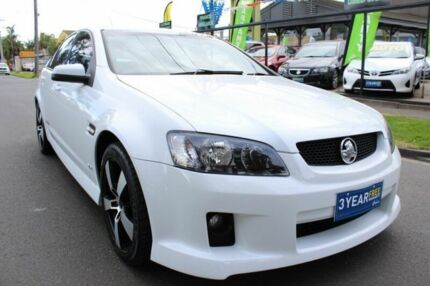 2006 Holden Commodore VE SS White 6 Speed Sports Automatic Sedan