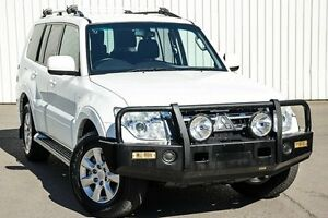 2012 Mitsubishi Pajero NW MY12 GL White 5 Speed Sports Automatic Wagon Kings Park Blacktown Area Preview