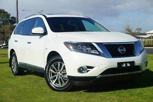 2016 Nissan Pathfinder R52 MY15 ST-L X-tronic 4WD Alpine White 1 Speed Constant Variable Wagon Wangara Wanneroo Area Preview