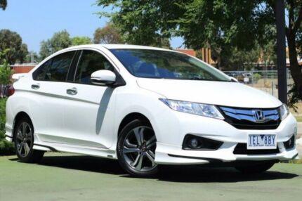 2015 Honda City GM MY14 VTi-L White 7 Speed Constant Variable Sedan