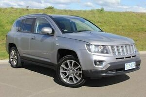 2014 Jeep Compass MK MY15 Limited Grey 6 Speed Sports Automatic Wagon Invermay Launceston Area Preview