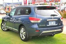 2015 Nissan Pathfinder R52 MY15 Ti X-tronic 4WD Galaxy Blue 1 Speed Constant Variable Wagon Wangara Wanneroo Area Preview
