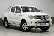 2009 Toyota Hilux GGN25R 09 Upgrade SR5 (4x4) White 5 Speed Automatic Dual Cab Pick-up Bentley Canning Area Preview